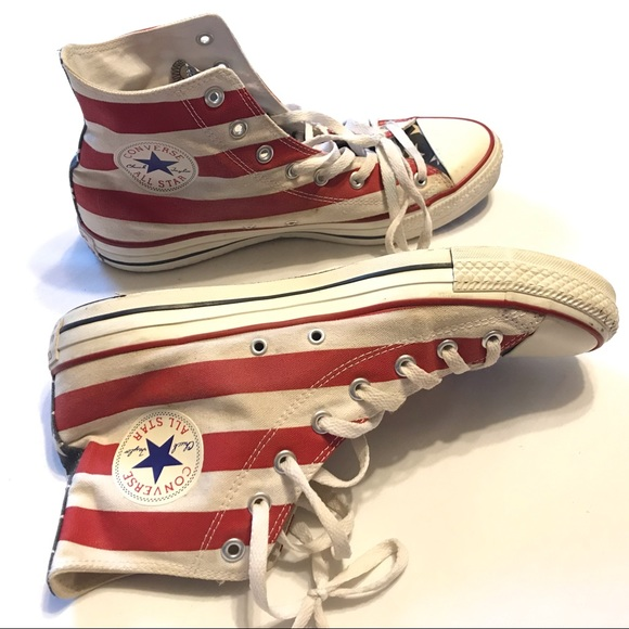 5d84548a9e8672 Converse Other - Converse All Star Chuck Taylor Stars and Bars